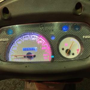 手に入れたバイクを修理したら動くようになったぞ!