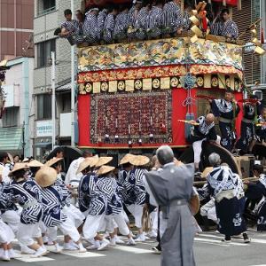 京都祇園祭 辻回し
