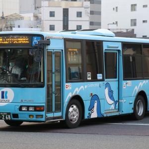 ことでんバスの車両(2018.11)