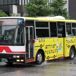 名鉄バスの一般路線車(2019.5)
