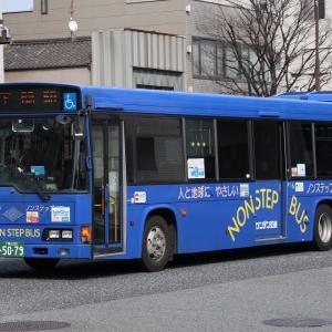 サンデン交通の車両2(2021.3)
