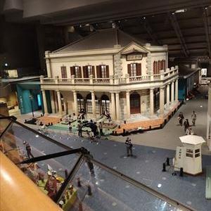 江戸東京博物館 大東京の華展へ