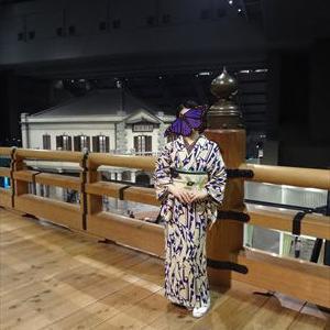 江戸東京博物館 大東京の華展へ モガなお友だちのコーデ