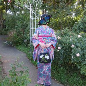京成薔薇園 友人のコーデ