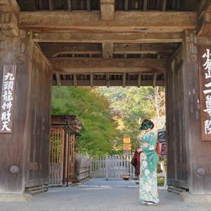 京都 嵐山 二尊院と常寂光寺へ