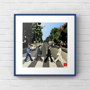 """エクセルで""""Abbey Road"""""""