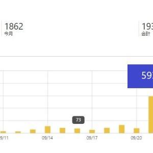 【アドセンス難攻】はてなブログ1か月目 運用報告