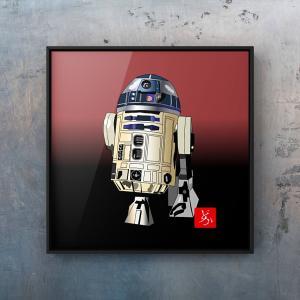 いよいよ公開間近。エクセル画でスターウォーズ9ができるまで~R2D2篇