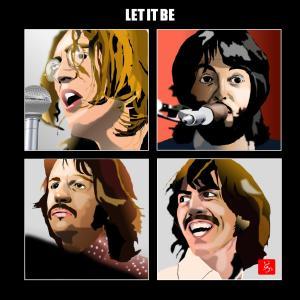 """エクセル画で""""Let It Be"""""""