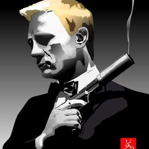 エクセル画でJames Bond @ ダニエル・クレイグ
