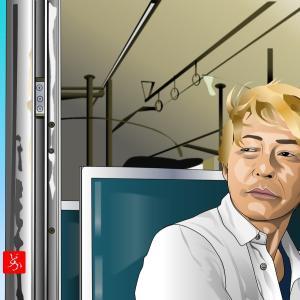 『迷宮グルメ 異郷の駅前食堂』のヒロシをエクセルで描いてみた