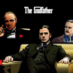 『ゴッドファーザー』のエクセル画イラスト全員集合版