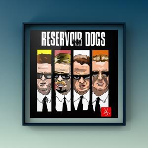 """エクセルで""""Resevoir Dogs"""""""