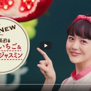 美酢(みちょ)CMの女性タレントは誰?松井愛莉さんプロフィール