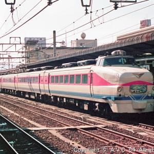 489系(特急白山)~史上最悪の塗色