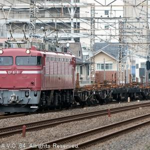 EF81(81号機)~新津工臨返空が来た!