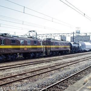 ED453+ED451(三岐鉄道)~白ホキを牽いて