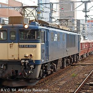 EF64(1022号機)~赤ホキ5783レ!