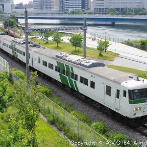 185系(Y160記念列車)~今年は「Y161」の予定でしたが…