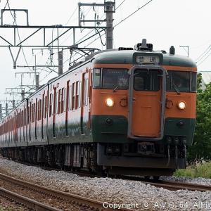 115系(T1038)~上州路の湘南色
