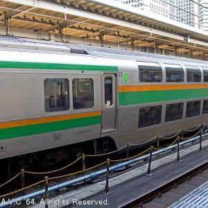 E217系湘南色(サロE217)~車内販売女性がコロナ感染