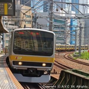 E231系(6扉B37編成)~旧飯田橋ホームにて