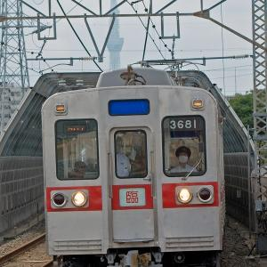 3600形(京成電車 今昔ツアー)~スカイツリーが