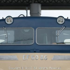 EF60(86号機)~綺麗な保存車