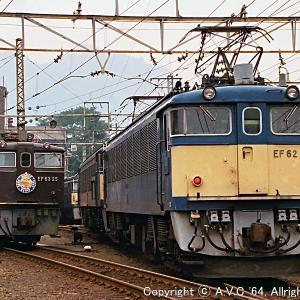 EF62(54号機)~EF63を牽いて