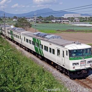 185系(B6編成)~上越線の「修学旅行列車」