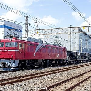 EF81(98号機)~水戸工臨ホキ8B
