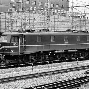 EF58(61号機)~梅小路機関区にて