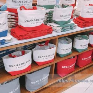 【バンコクで買える!】DEAN&DELUCA BANGKOK限定トートバッグの種類(色、サイズ、値段)まとめ