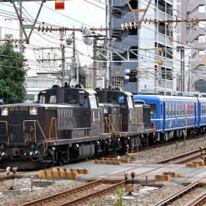 DE10重連+12系6両、復活急行「阿蘇号」