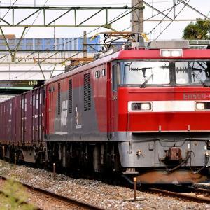 EH500-45号機牽引の貨物「63レ」を撮る
