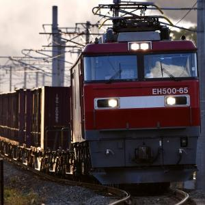 EH50065号機牽引の貨物「7090レ」