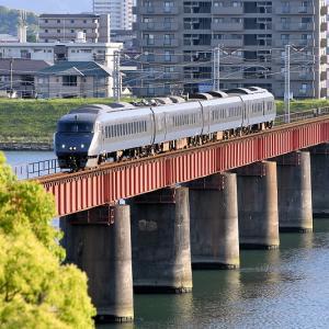 大淀川橋梁で撮る(2)、787系「にちりん」