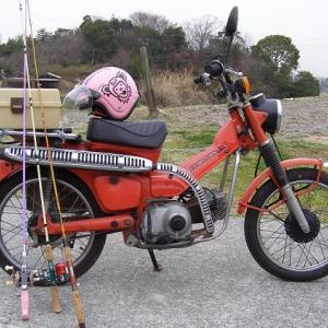 バイクで釣りに行く!記事を寄稿!