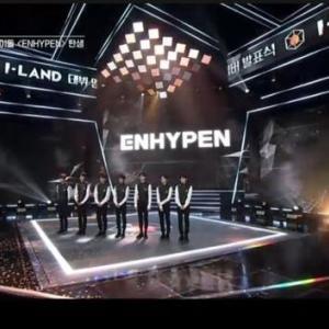 韓国 「I-LAND」から「ENHYPEN」誕生~ (^○^)