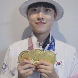 韓国 こんなに可愛くて強いアンサン選手~ (*^^)v