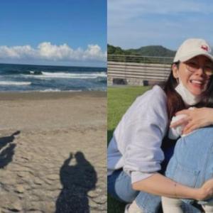 韓国 チェ・ジウ家族旅行でソン・ヘギョと合流なの!? )^o^(