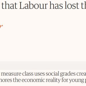 英国総選挙: 左派ジャーナリストの記事を訳してみた。「労働党が労働者階級の支持を失ったというのは虚構にすぎない」