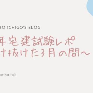 2019年宅建試験レポ~駆け抜けた3月の間~前編