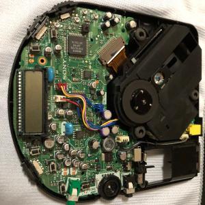 Sony Discman D-120の修繕