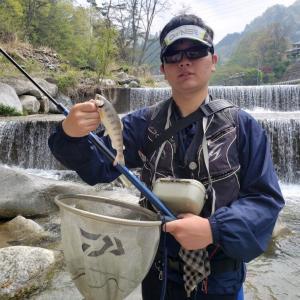 2020渓流 44回目釣行 日川