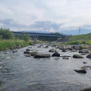 2021渓流ルアー釣り 2回目釣行 笛吹川