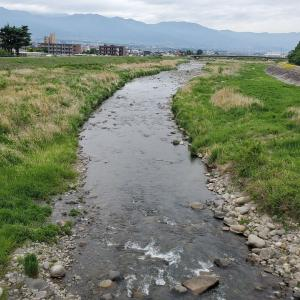 2021渓流ルアー釣り 3回目釣行 笛吹川