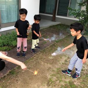 花火の練習