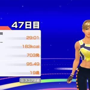 フィットボクシング体験記  47日目〜52日目