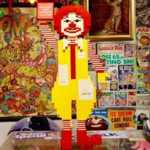 McDonald's(マクドナルド)LEGO(レゴ)カウンターディスプレイ